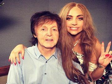 Paul McCartney e Lady Gaga