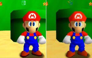 Nintendo Mario 64 Inovação