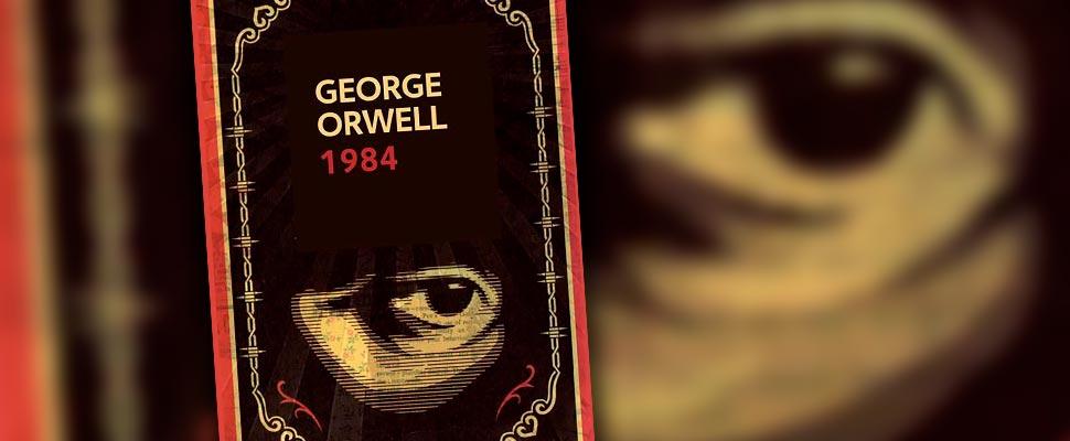 """Livro 1984 e o """"olho"""""""
