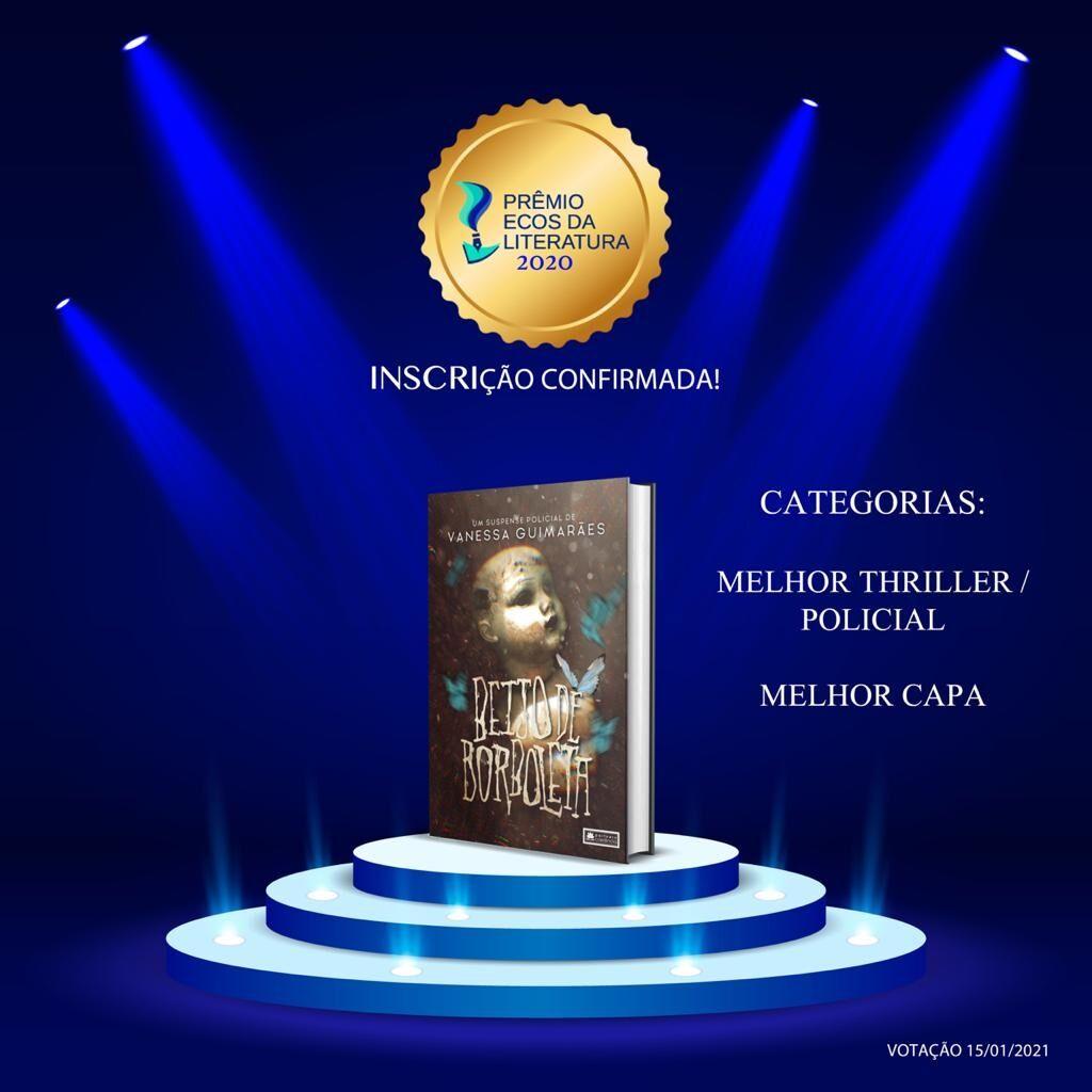 Beijo de Borboleta - Prêmio Ecos de Literatura