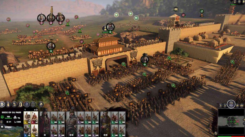 Fates Divided chega a Total War: THREE KINGDOMS