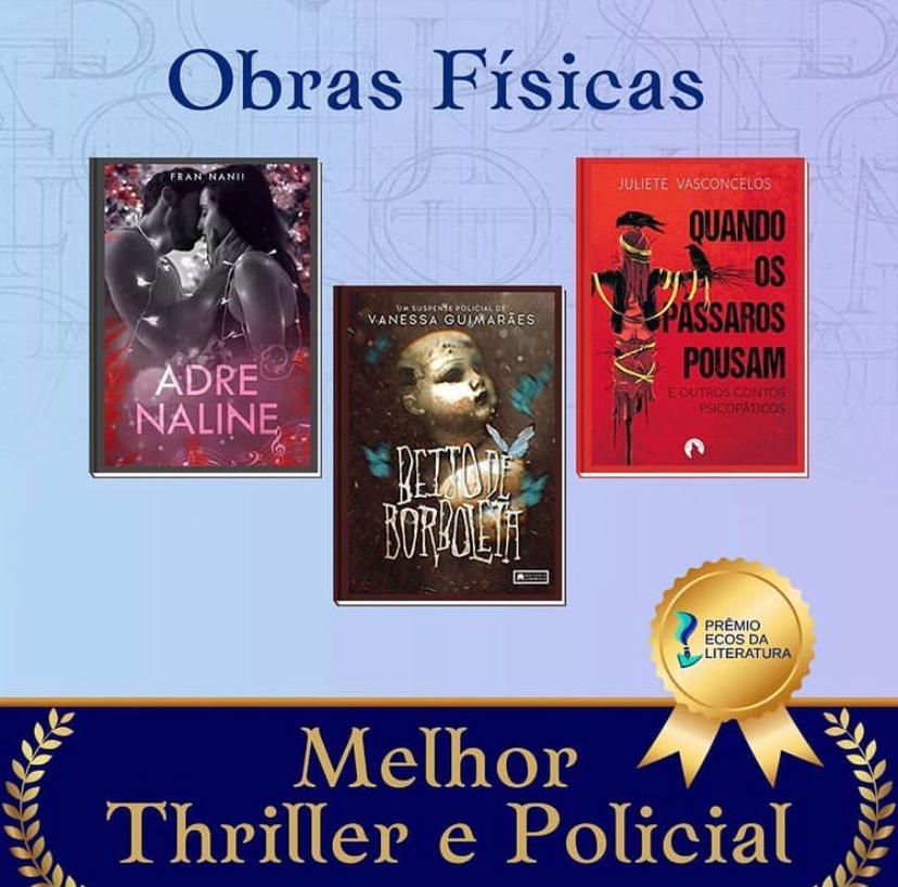 Beijo de Borboleta - Vanessa Guimarães - 2ª edição do Prêmio Ecos da Literatura