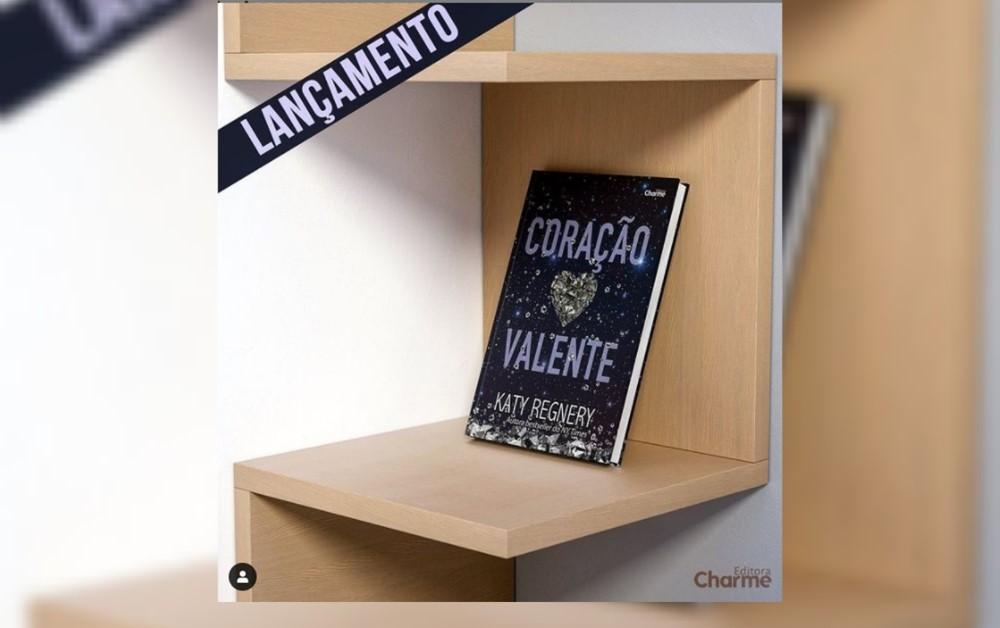 Lançamento Coração Valente - Editora Charme
