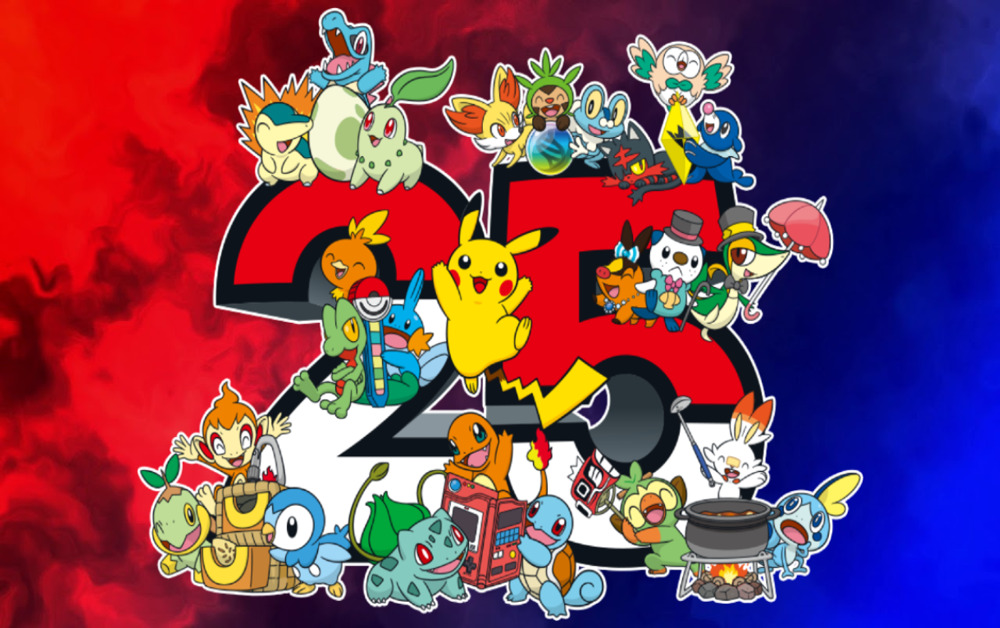Pokémon 25 anos