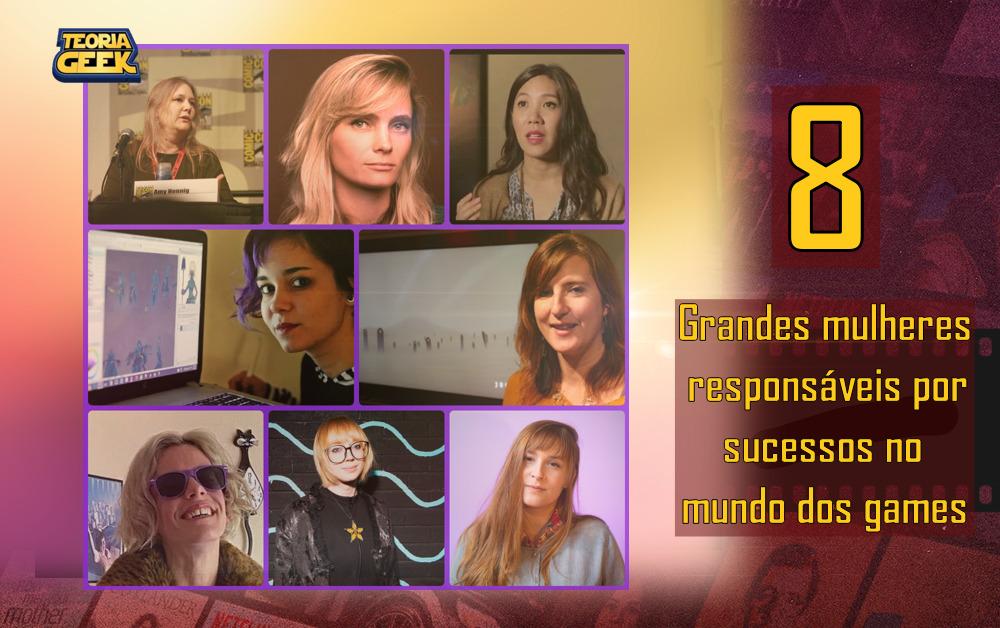 8 mulheres importantes nos games