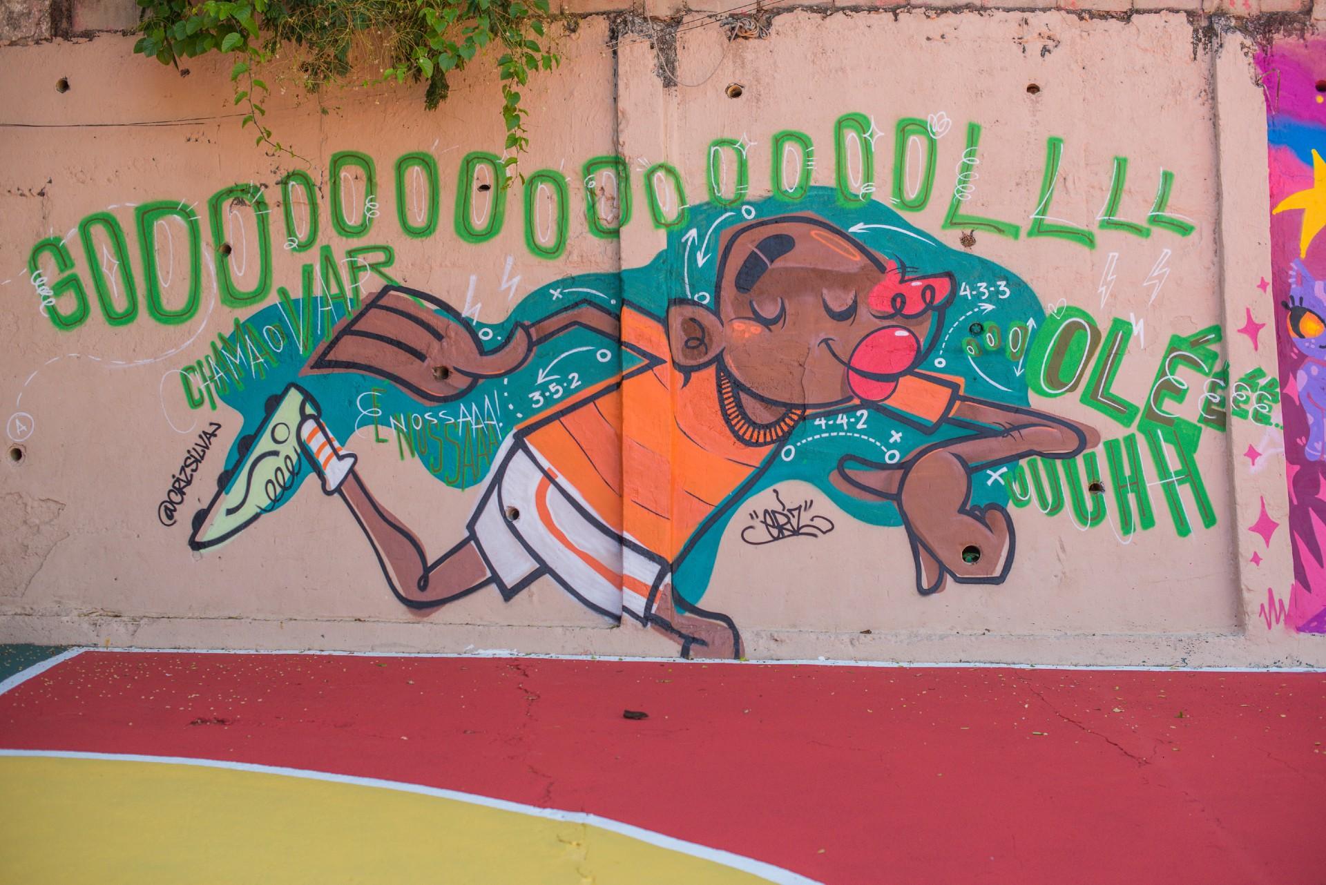 Morro dos Prazeres - Revitaliza Graffiti  - Teoria Geek