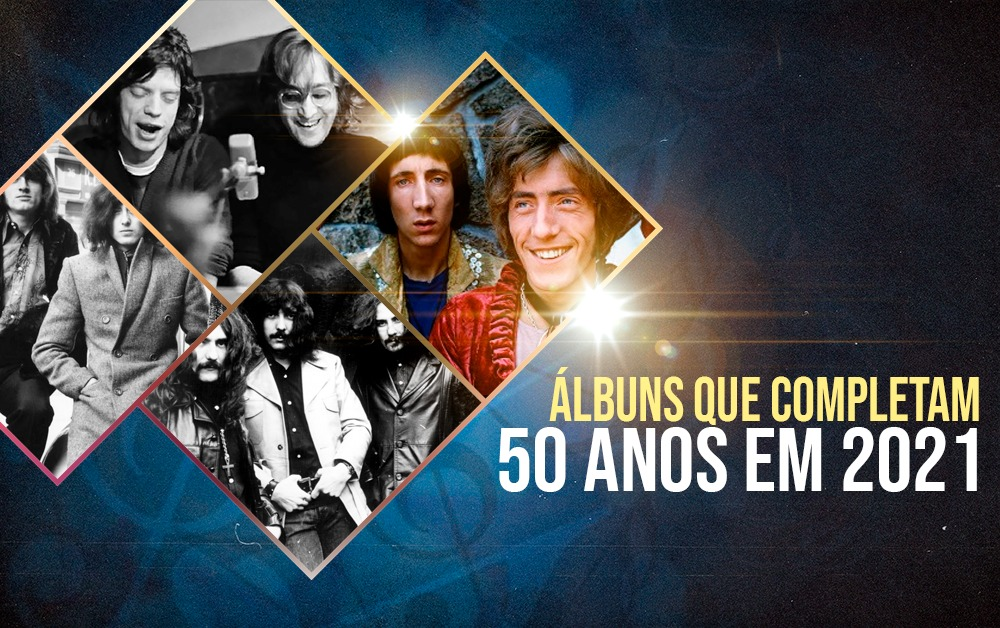 álbuns 50 anos 2021