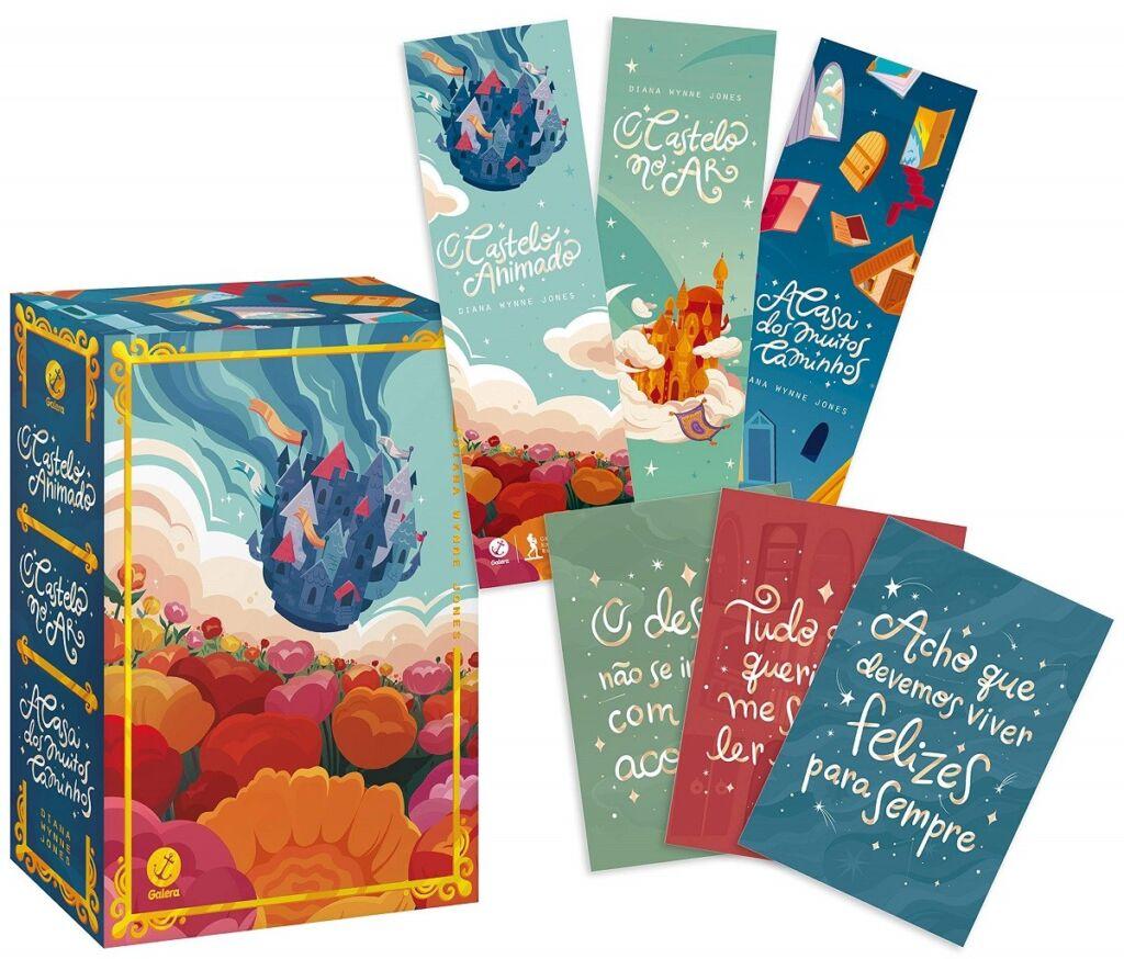 Box O Castelo Animado livro 1