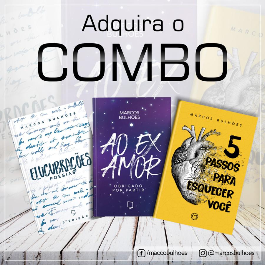 Combo livros Marcos Bulhões