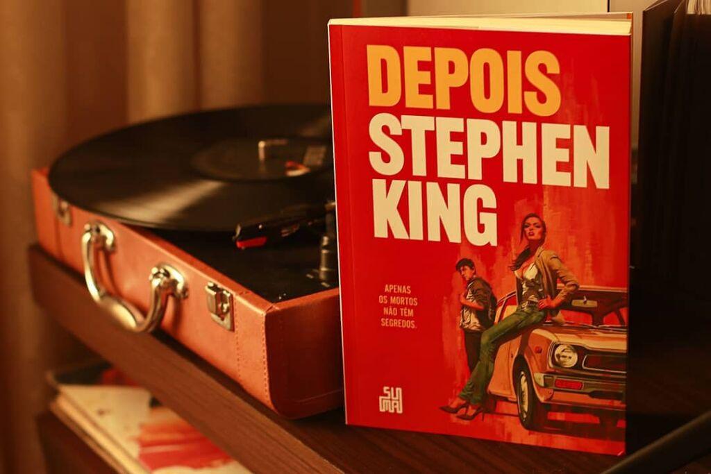 Livro Depois - Stephen King - 2021