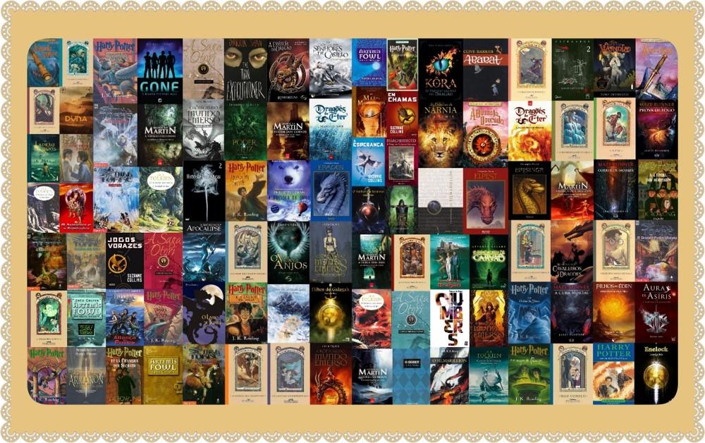 Livros de Fantasia aumentam em vendas - TG