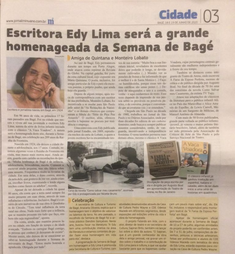 Evento Secretaria Bagé - Edy LIma