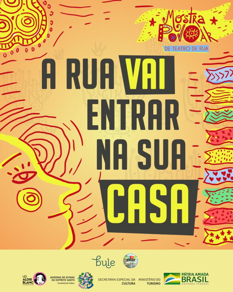 Mostra de Teatro de Rua - Poster