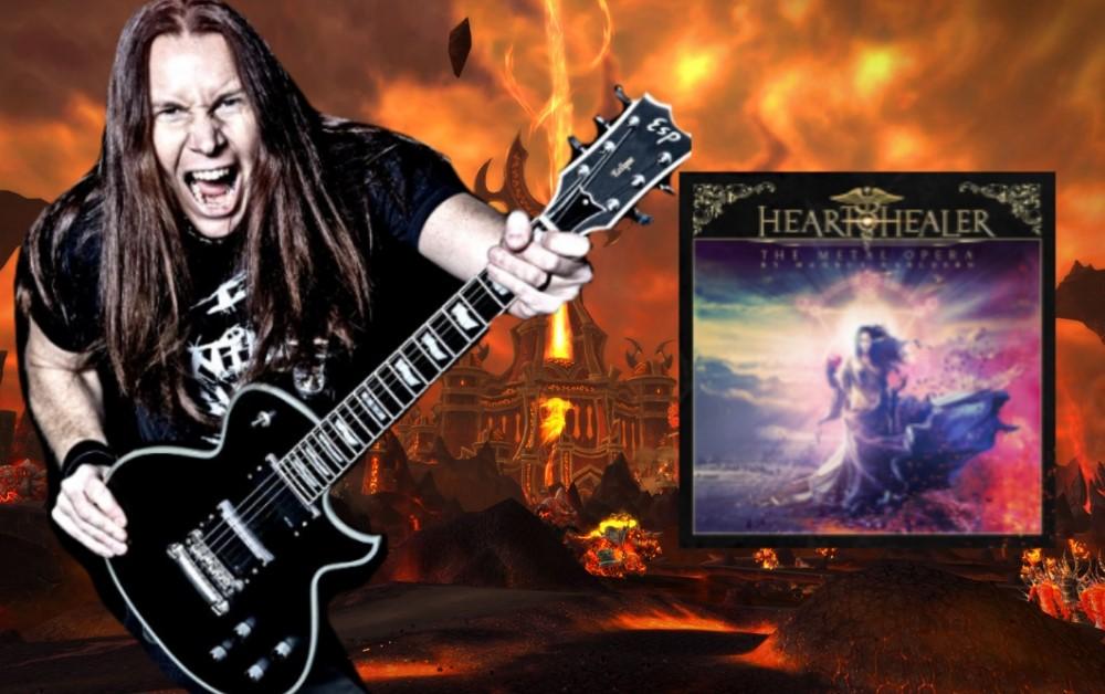 Review Album Heart Healer – The Metal Opera by Magnus Karlsson 2021
