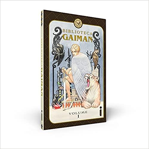 Livros Lançamento Julho Biblioteca Gaiman - Volume 1