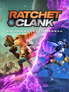 Ratchet & Clank Em Uma Outra Dimensão - Capa
