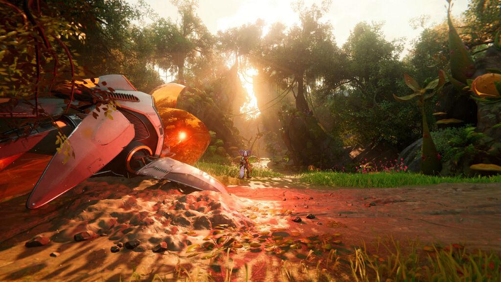Ratchet & Clank Em Uma Outra Dimensão - Cenário