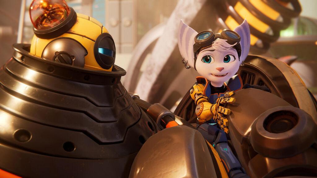 Ratchet & Clank Em Uma Outra Dimensão - Rivet e Kit