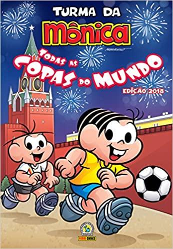 Dia Nacional do Futebol Livros Todas as Copas do Mundo -Turma da Mônica