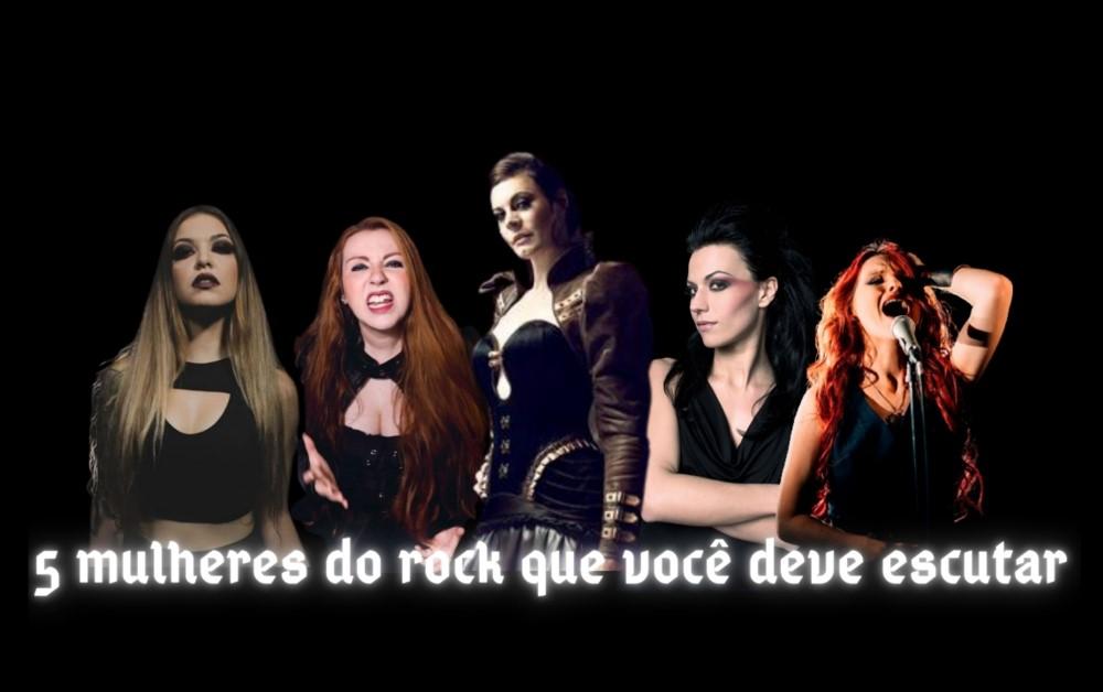 Dia Mundial do Rock - 5 Mulheres do Rock
