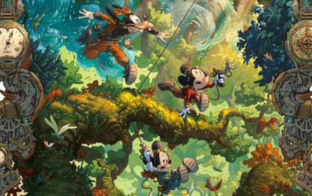 Panini anuncia lançamento de graphic novel do Mickey destaque