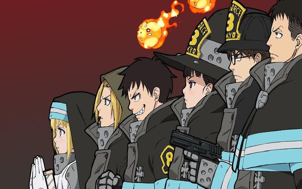 Fire Force Funimation dublagem