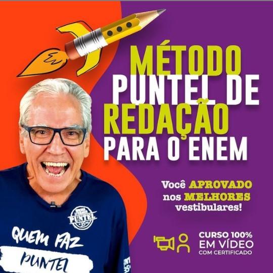 Professor Luiz Puntel - Oficina Literária Puntel no Instagram