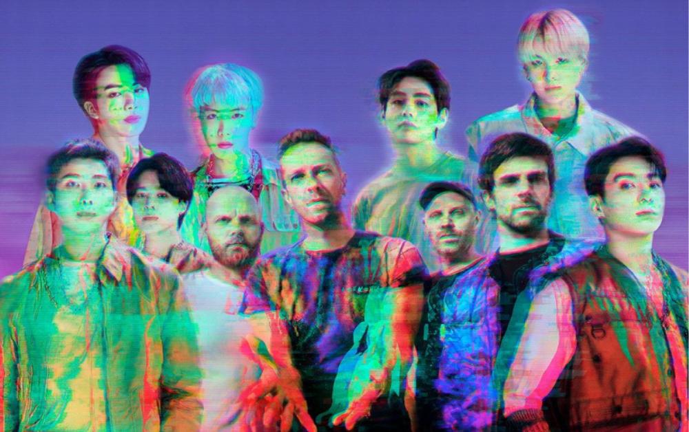Lyric video da música do Coldplay com BTS é liberada; confira!