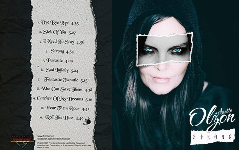 REVIEW   Álbum: Strong - Anette Olzon