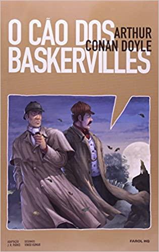 Livros coração O Cão dos Baskervilles. Sherlock Holmes - Volume 1. Coleção Farol