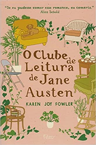 Livros estresse O clube de leitura de Jane Austen