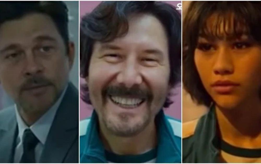 Round 6: como seria se fosse estrelada por Keanu Reeves, Brad Pitt e Zendaya?