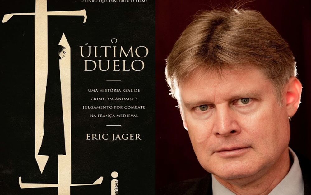 O ÚLTIMO DUELO, de Eric Jager capa