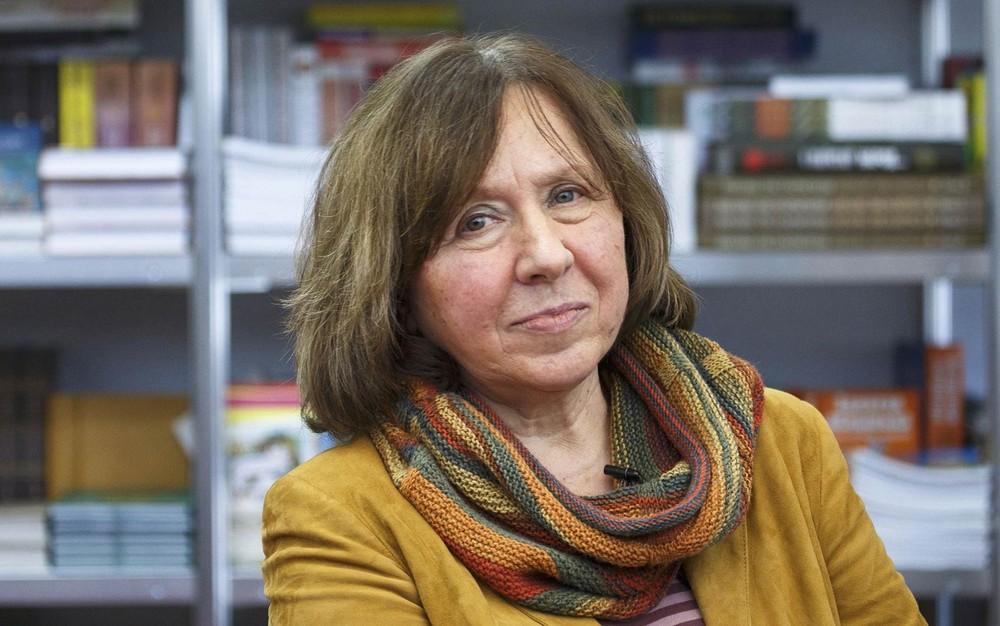 Prêmio Nobel de Literatura Svetlana Alexievich